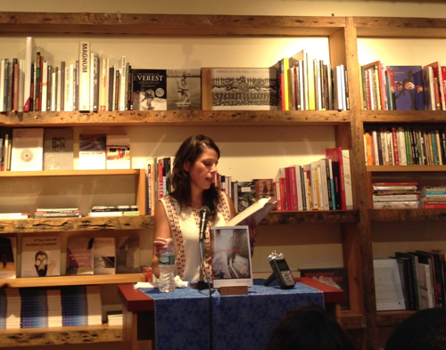 Jessica Lott reads from her new book, The Rest of Us at BookCourt in downtown Brooklyn