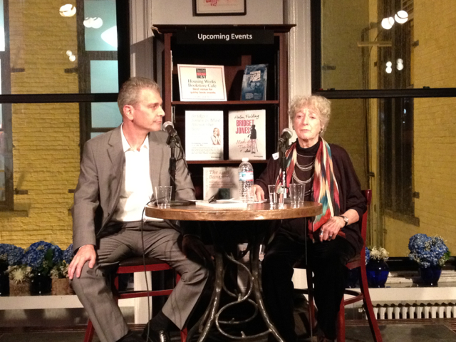 Lore Segal, author of Half the Kingdom, by Melville House, reads at Housing Works boosktore with Harper's editor James Marcus