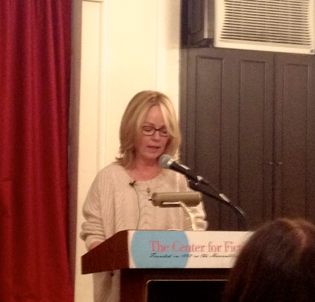 Dani Shapiro reads from her memoir and writing craft book, Still Writing at the Center for Fiction in Manhattan