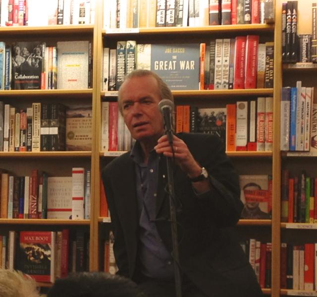 Martin Amis at McNally Jackson Bookstore