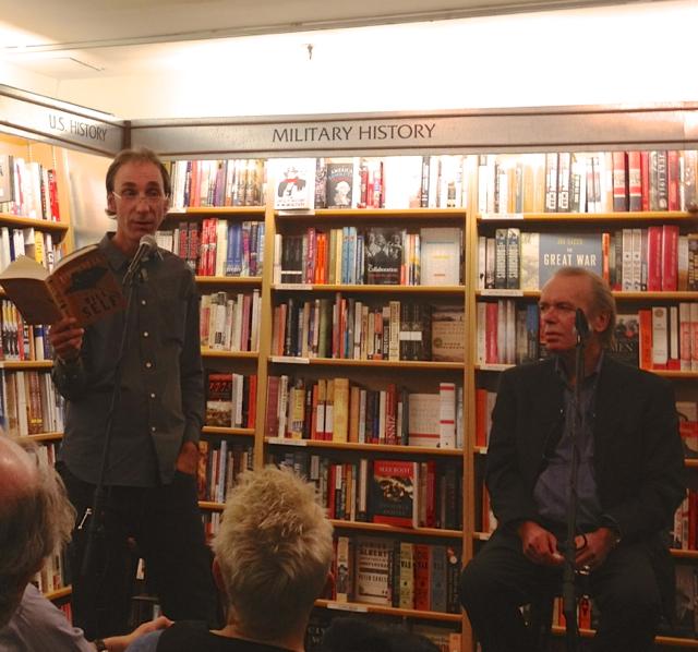 Martin Amis and Will Self read at McNally Jackson books
