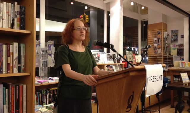 Rachel Cantor reads from her new novel a Highly Unlikely Scenario