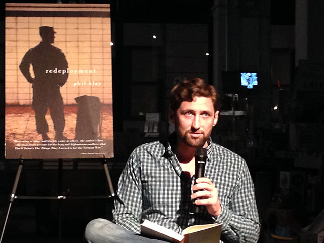 Phil Klay reading from his story collection redeployment