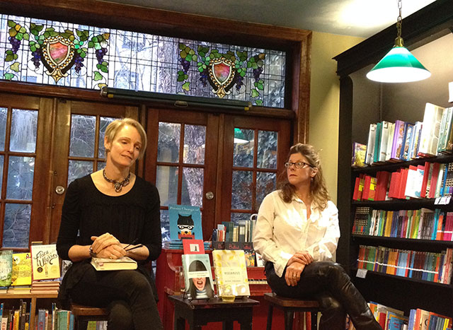Rachel Urquhart Reads The Visionist with Elissa Schappell, co-founder and editor of Tin House at Community Bookstore in Park Slope Brooklyn