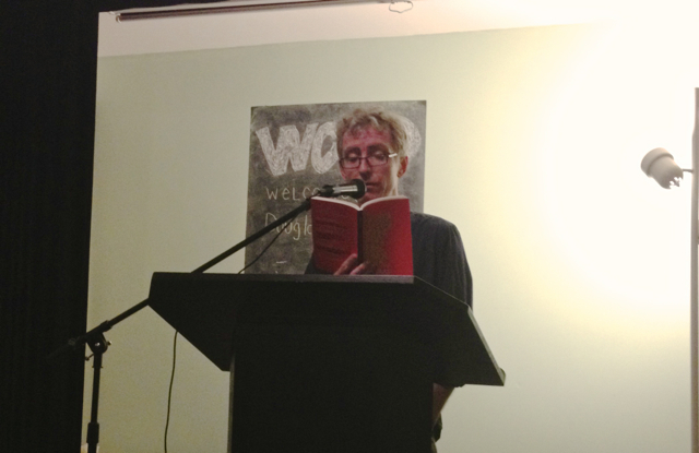 Douglas Watson reads his novel A Moody Fellow Finds Love and Then Dies