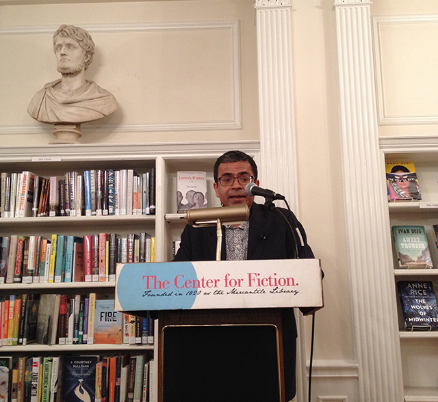 Akhil Sharma reads Family Life at Center for Fiction