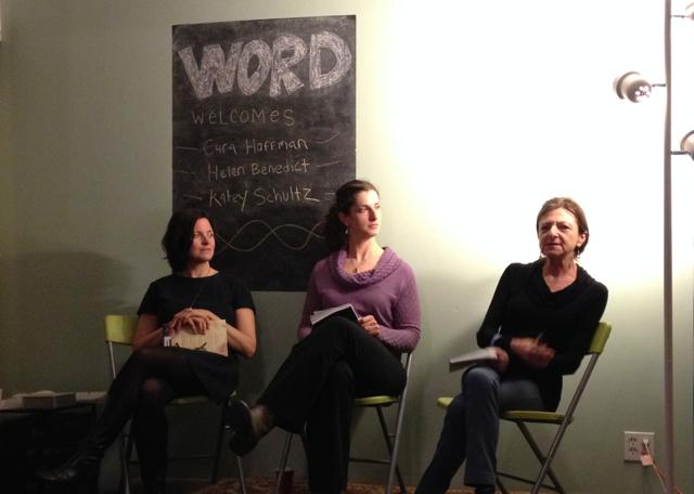 Cara Hoffman, Helen Benedict, and Katey Schultz Talk War Stories at Word in Brooklyn