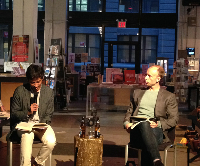 Nikil Saval reads from his new book Cubed with Chad Harbach