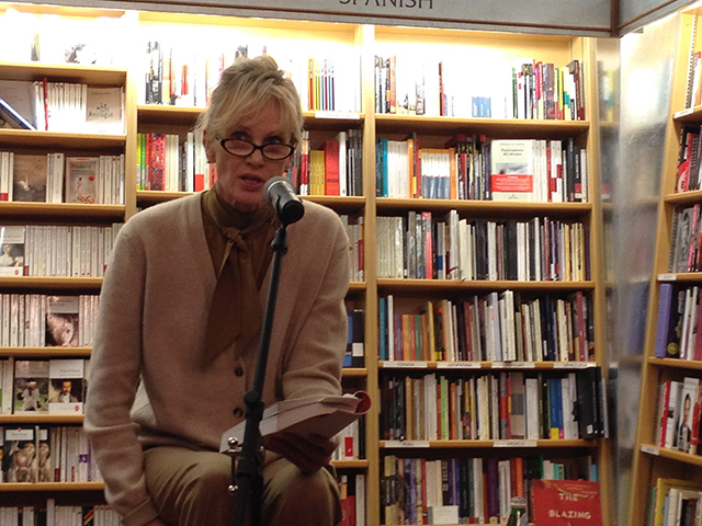 Siri Hustvedt reads from her novel The Blazing World at McNally Jackson Books in Manhattan
