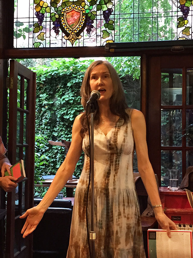 Nell Zink reads from her latest novel, Mislaid at Community Bookstore in Park Slope Brooklyn, New York