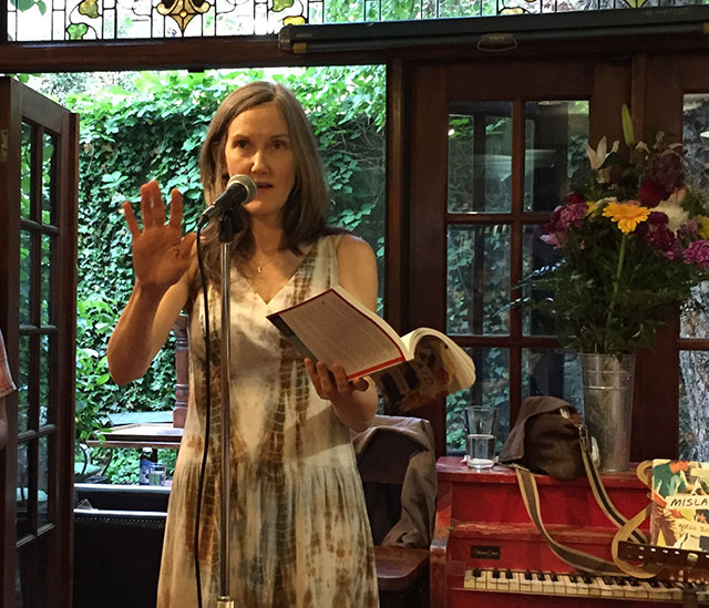Nell Zink reads from her new novel Mislaid at Community Bookstore in Brooklyn, New York