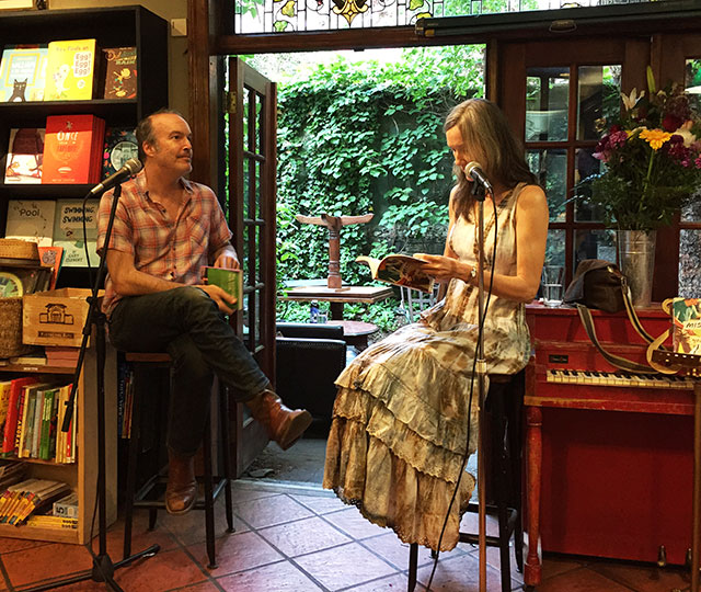 Nell Zink, author of The Wallcreeper and Mislaid, talks with Sean Wilsey