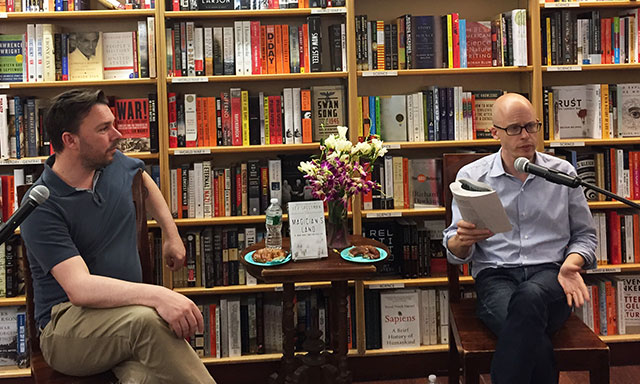Choire Sicha, founder of The Awl, chats with Lev Grossman, author of the Magicians