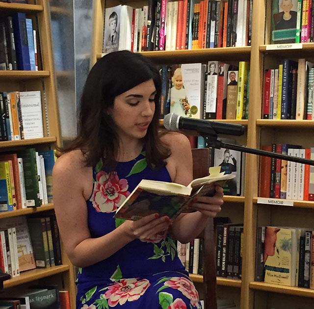 Julia Pierpont reads Among the Ten Thousand Things