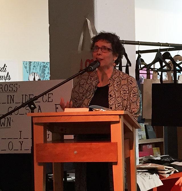 Stephanie Kallos, author of the novel LANGUAGE ARTS