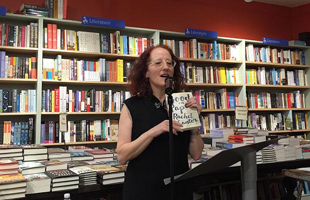 Rachel Cantor reads GOOD ON PAPER at Book Culture in Manhattan's Upper West Side neighborhood