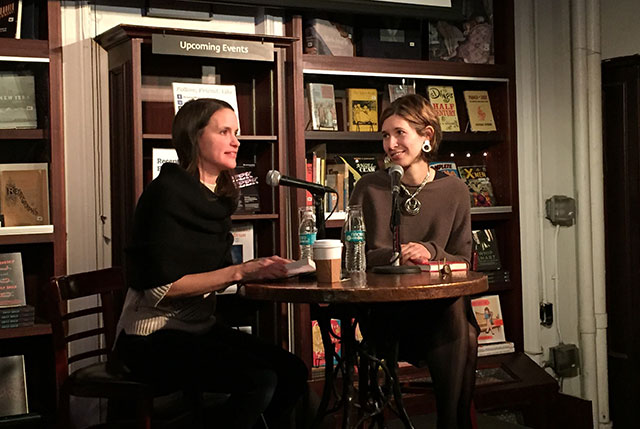 Nell Freudenberger talks with Idra Novey about her debut novel WAYS TO DISAPPEAR at Housing Works Bookstores