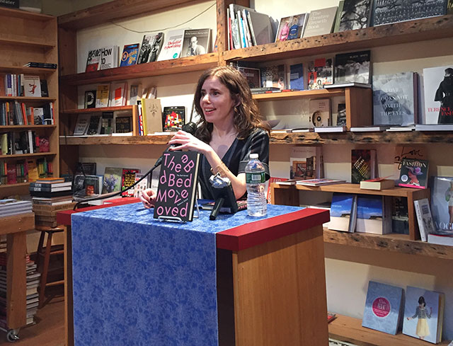 Rebecca Schiff reads THE BED MOVED, a collection of stories, at BookCourt in Brooklyn