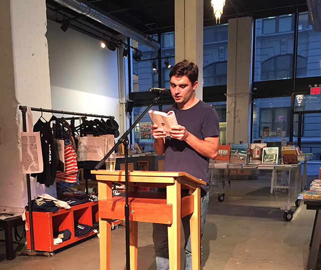 J.R. Thornton reads BEAUTIFUL COUNTRY at powerhouse Arena in Brooklyn