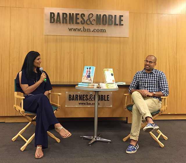 Mira Jacob talks with Rumaan Alam about his debut novel RICH AND PRETTY at the Barnes and Noble on 86th Street