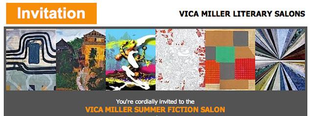 Vica Miller Literary Salons