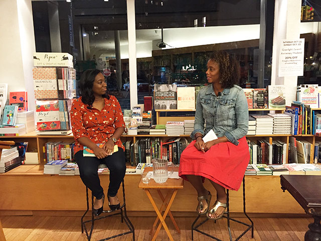 Britt Bennett and Angela Flournoy discuss THE MOTHERS at Greenlight Bookstore in Brooklyn