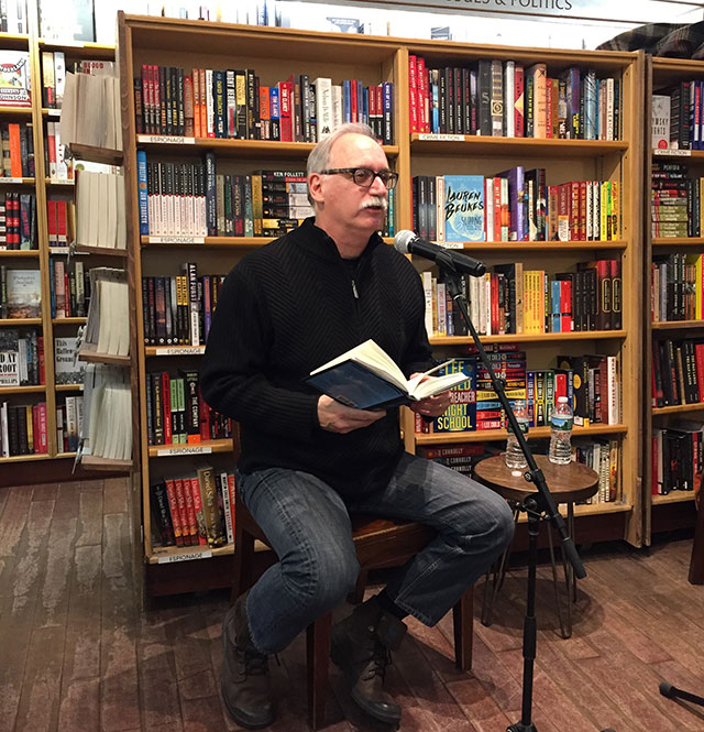 Jim Shepard reading from his new story collection THE WORLD TO COME