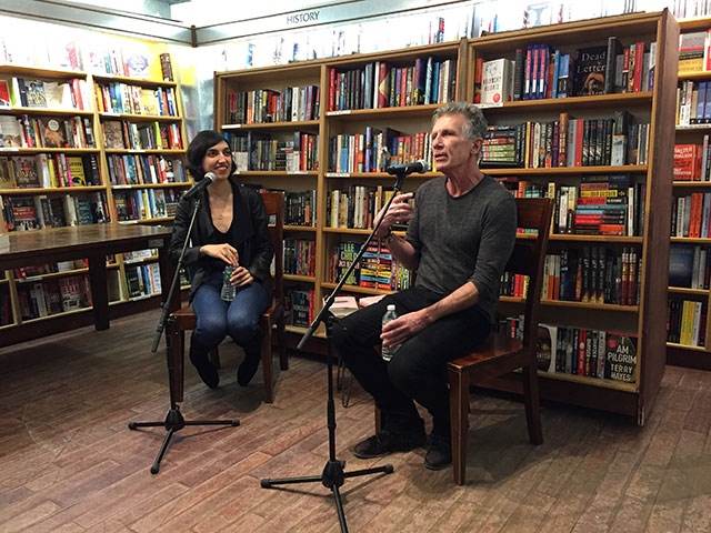 Elif Batuman talks with Michael Cunningham about THE IDIOT at McNally Jackson Books in Manhattan, New York City