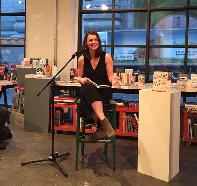 Julie Buntin, author of MARLENA