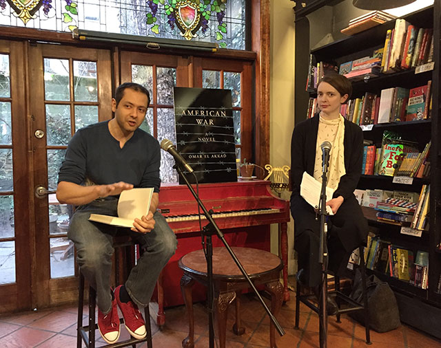 Omar El Akkad discusses AMERICAN WAR with Emily St John Mandel, author of STATION ELEVEN