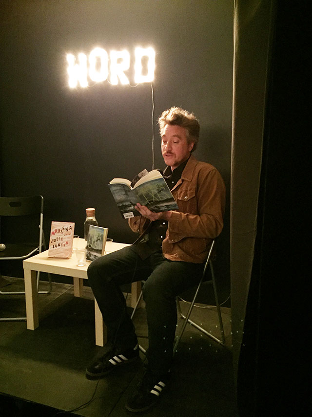 Max Winter reads from his debut novel EXES