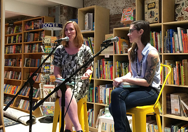 Bethany Ball discusses WHAT TO DO ABOUT THE SOLOMONS with Sarah Gerard, author of THE SUNSHINE STATE at Books are magic