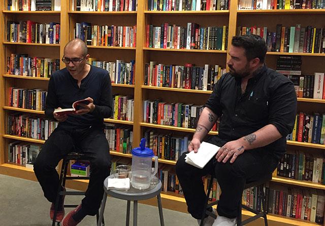 Yuri Herrera and Isaac Fitzgerald discuss KINGDOM CONS at Greenlight Bookstore in Brooklyn