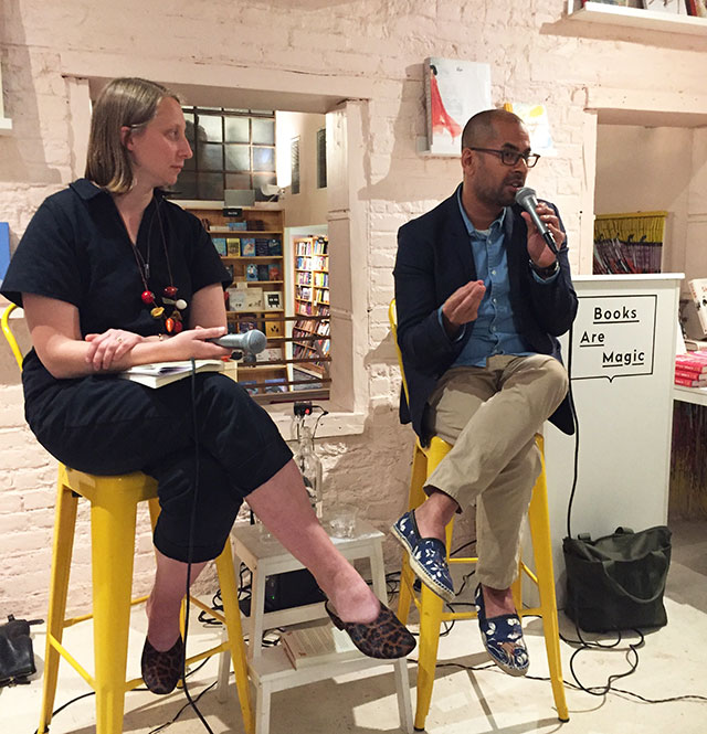 Rumaan Alam and Emma Straub discuss THAT KIND OF MOTHER at Books Are Magic in Brooklyn
