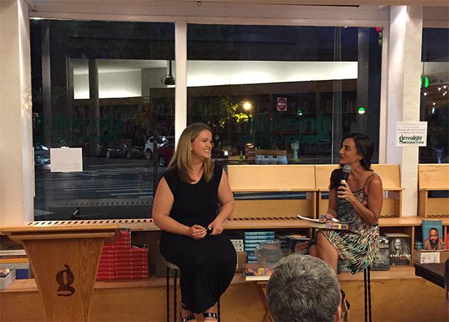 Téa Obreht Reads Inland with Marie-Helene Bertino
