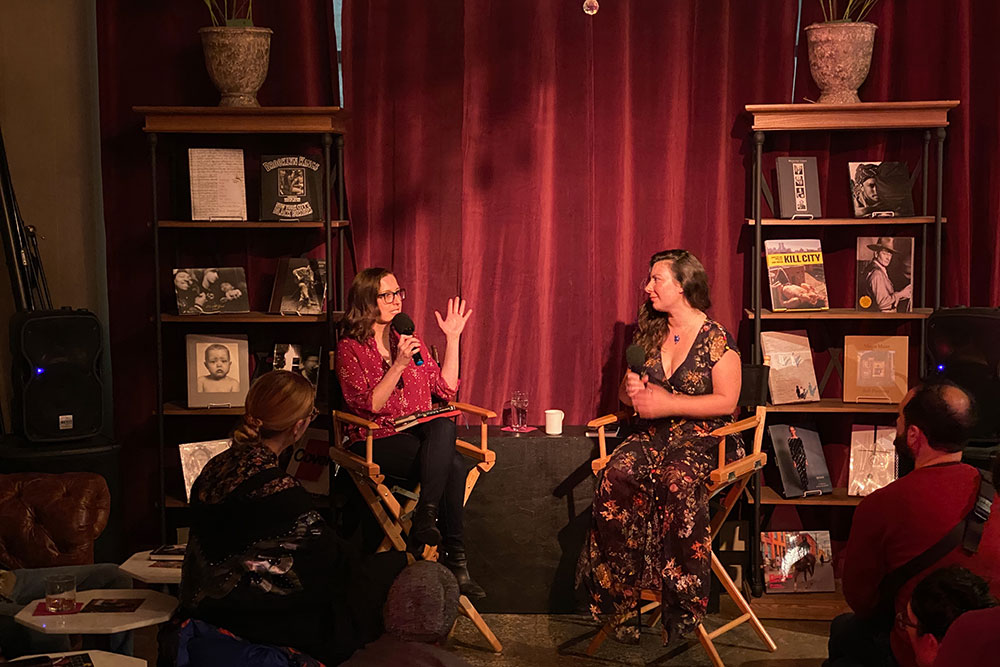 Amy Brady Talks with Chana Porter about THE SEEP at Powerhouse
